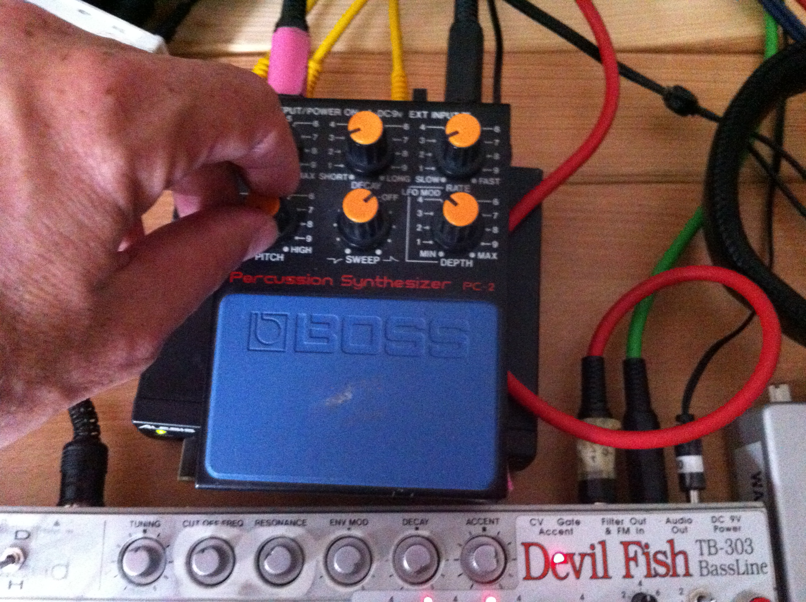 Boss PC-2 Percussion Synthesi