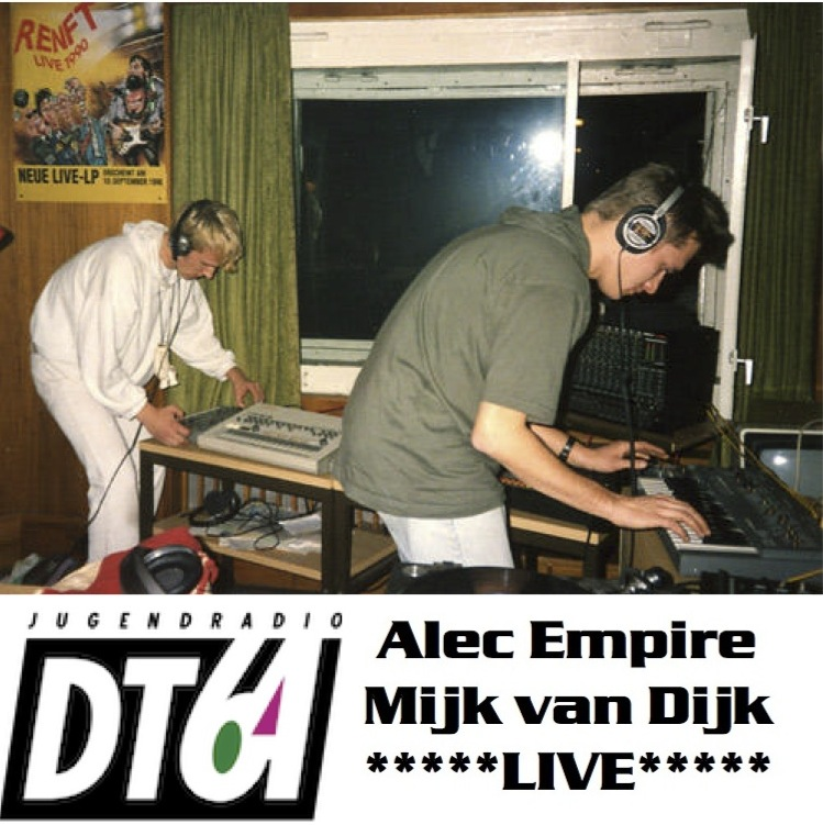 Alec Empire & Mijk van Dijk live on DT64