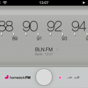 homesick.fm for iPhone