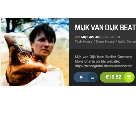 Mijk van Dijk Beatport Spotlight Charts June 2013