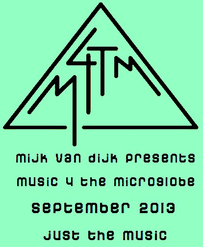 music 4 the microglobe #6, September 2013 (just the music)