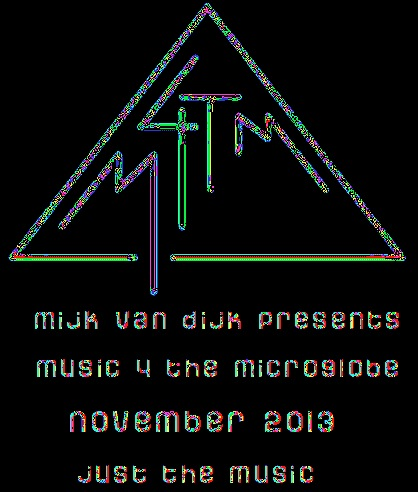 music 4 the microglobe #8, November 2013 (just the music)