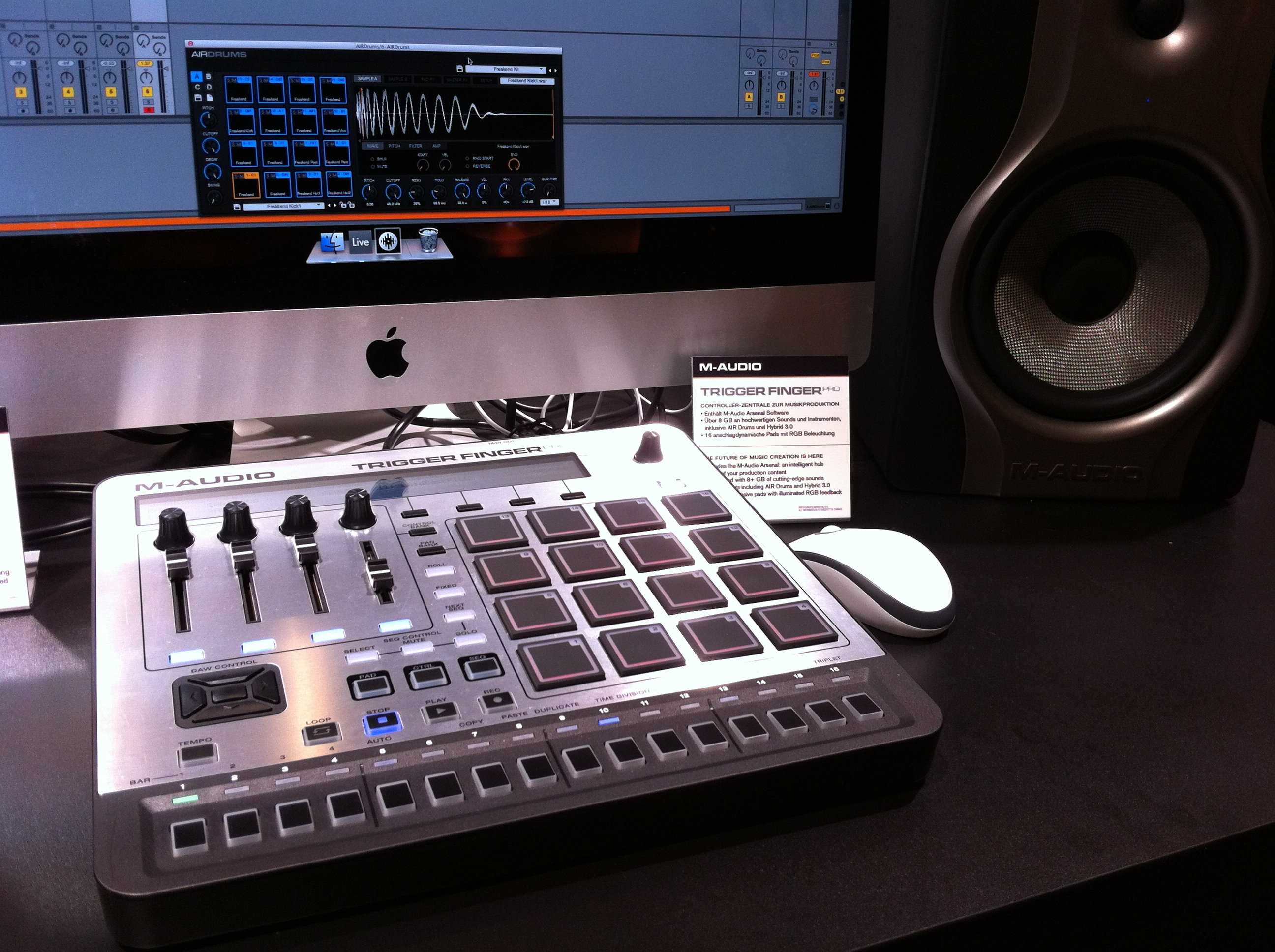 M-Audio-TriggerFingerPro