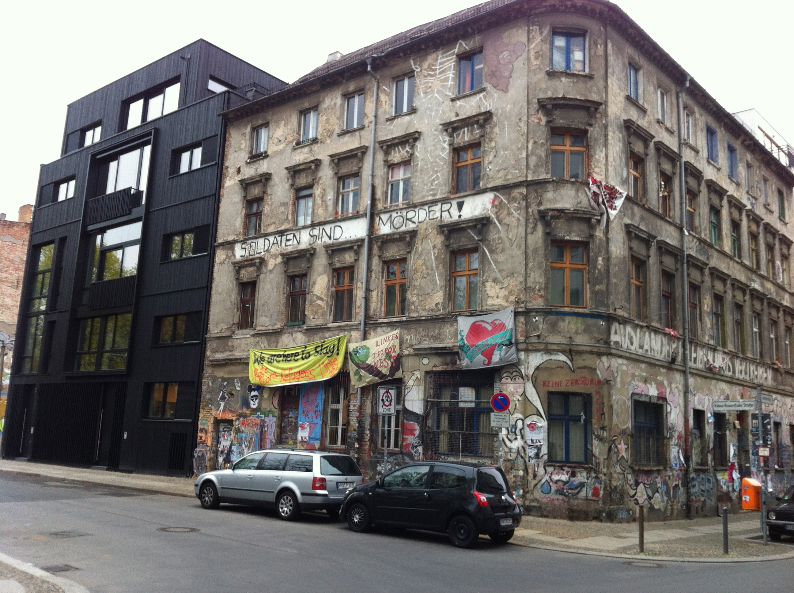 This Berlin Street Corner