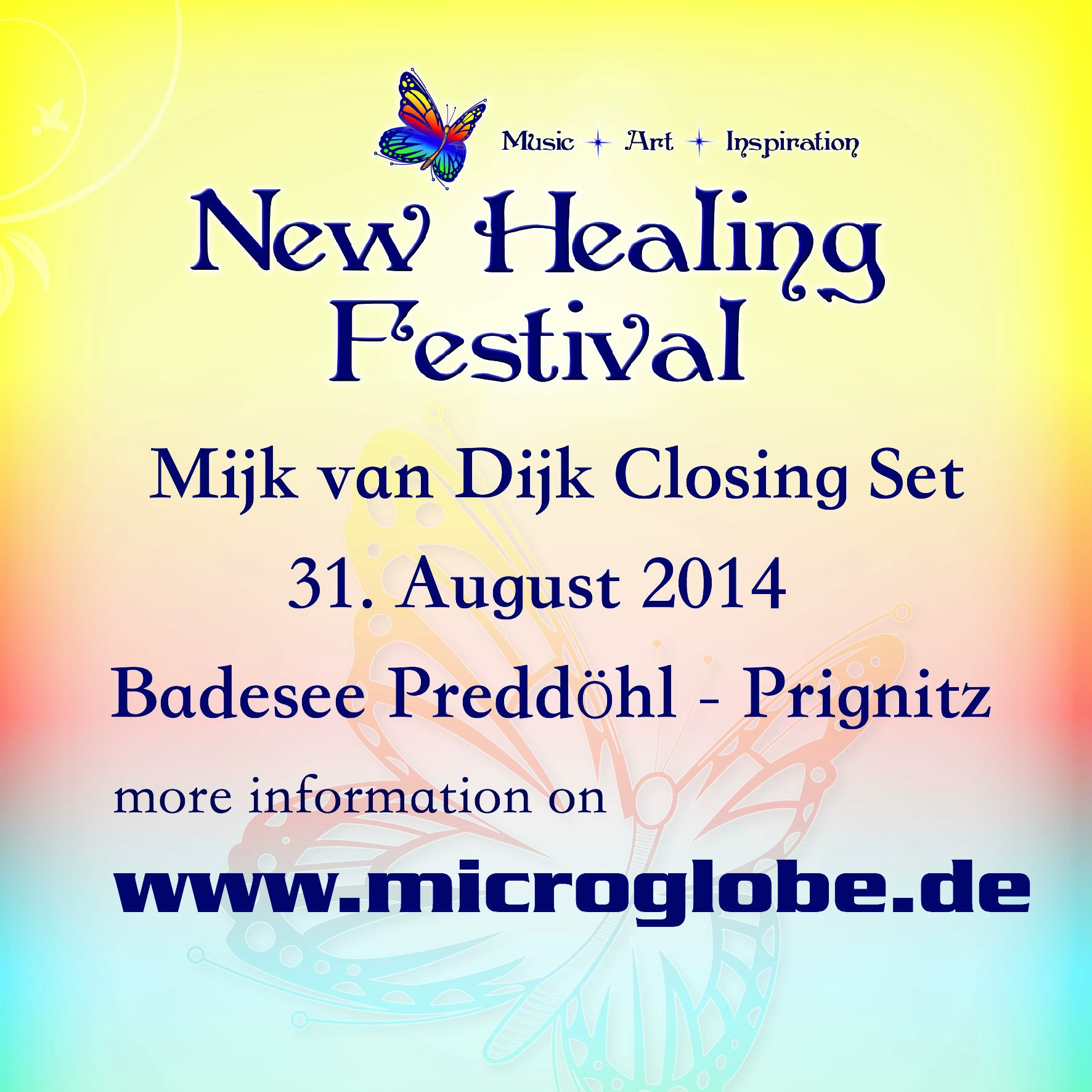 Mijk van Dijk DJ Set New Healing Open Air 2014