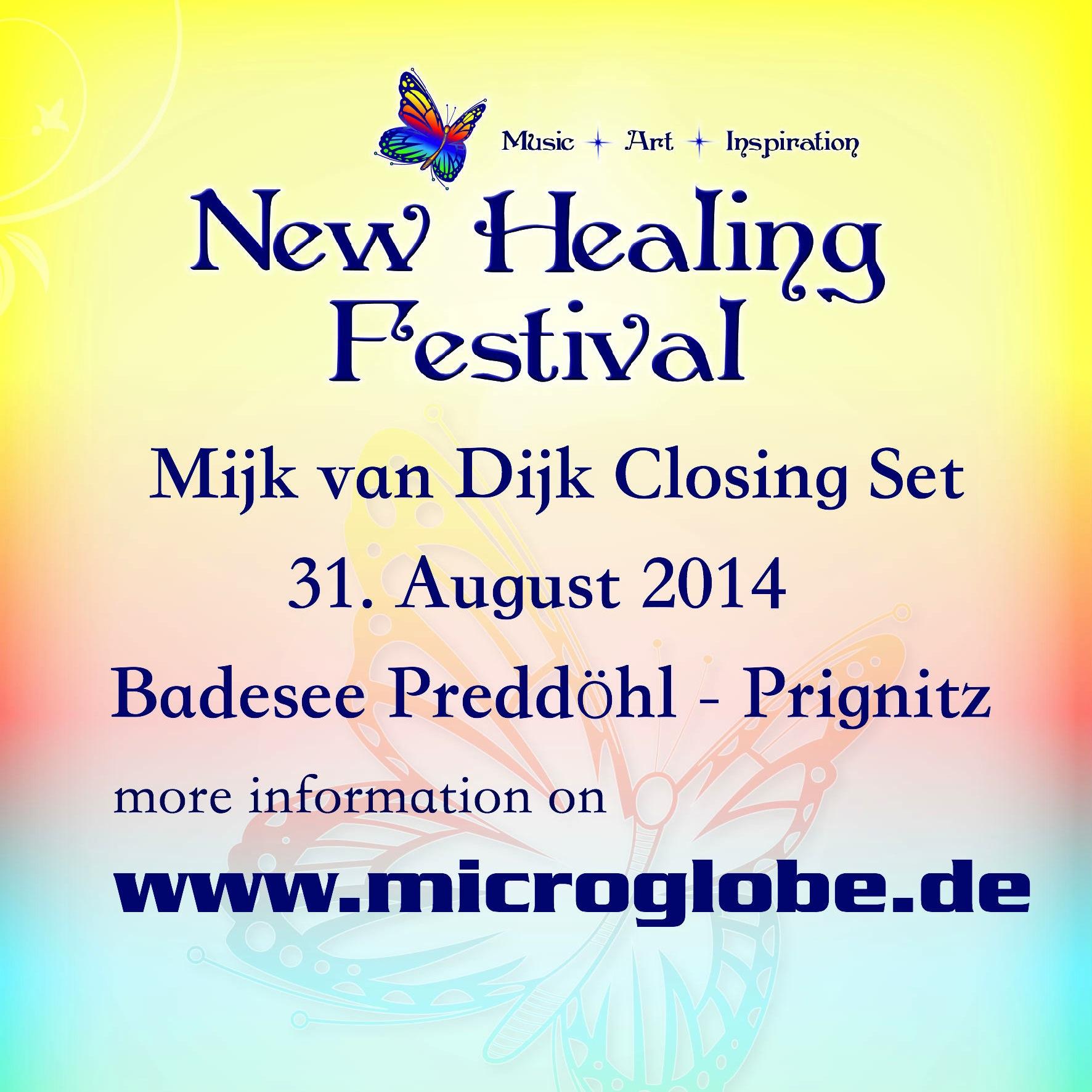 Mijk van Dijk DJ Set New Healing Open Air 2014