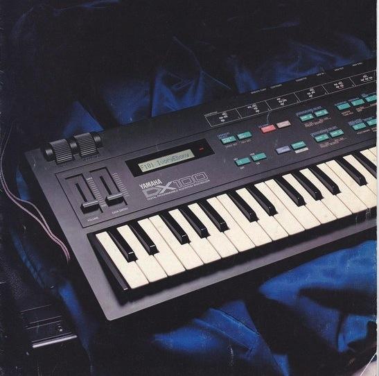 DX100 80s Advertisement