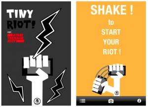 ATR tiny riot app
