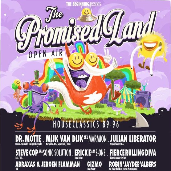Mijk van Dijk at The Promised Land