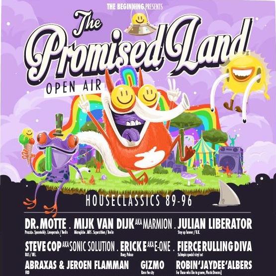 Mijk van Dijk at The Promised Land