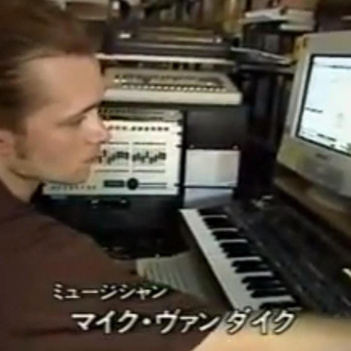 日本のテレビ番組出演時のマイク・バン・ダイク