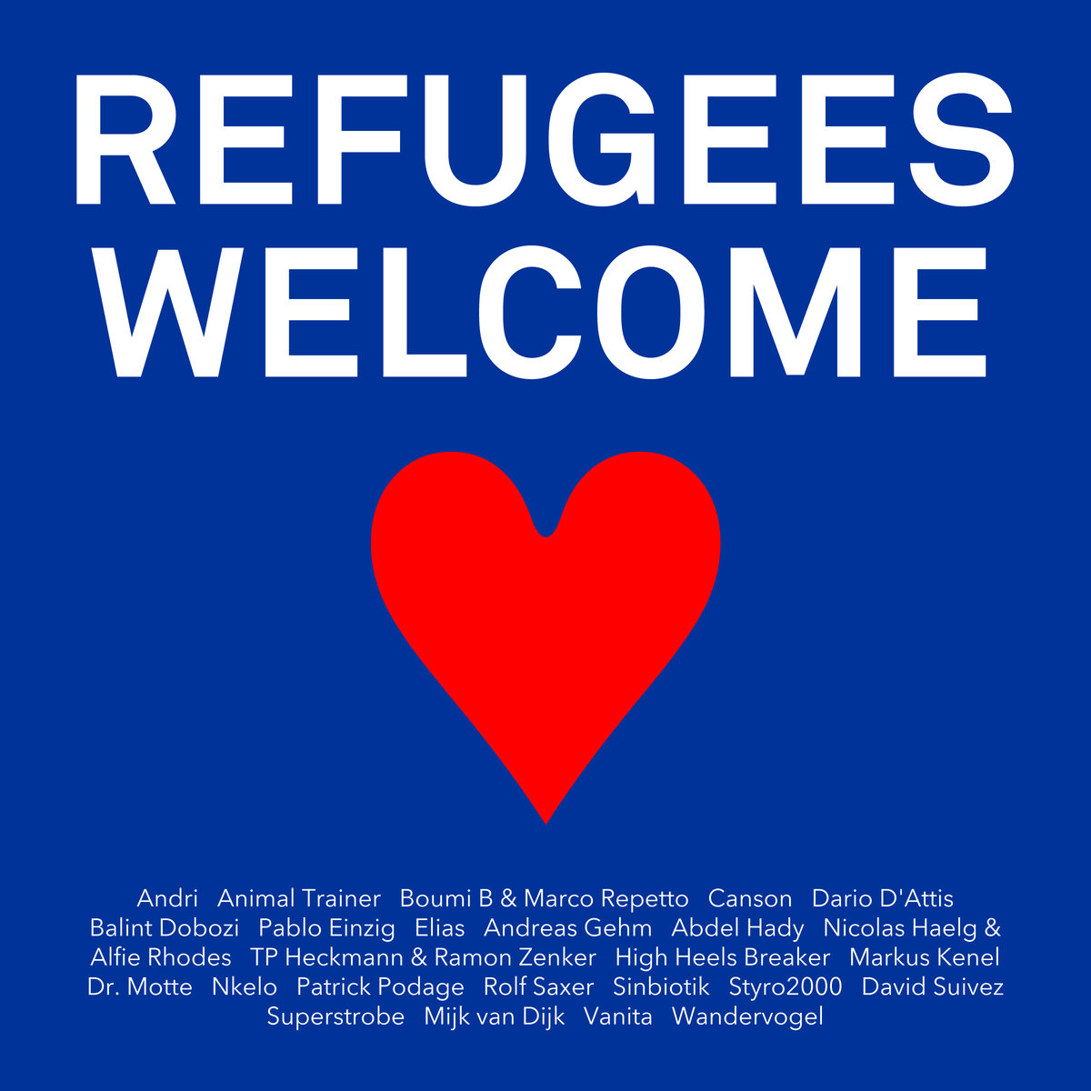 Music 2 Survive – Refugees Welcome Compilation
