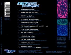 tranceformed tracklist