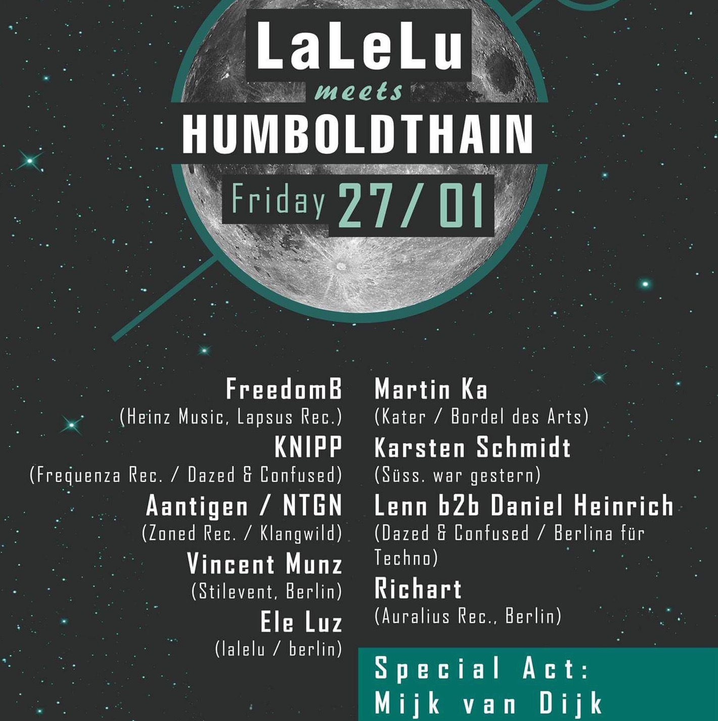 LaLeLu at Humboldthain Club Berlin