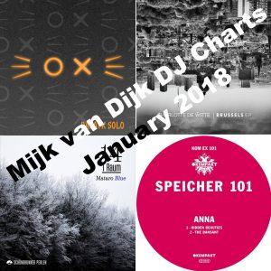 Mijk van Dijk DJ Charts January 2018