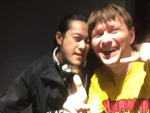 Mijk and Ray at Vinylhouse2