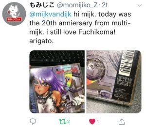 Tweet by momijiko