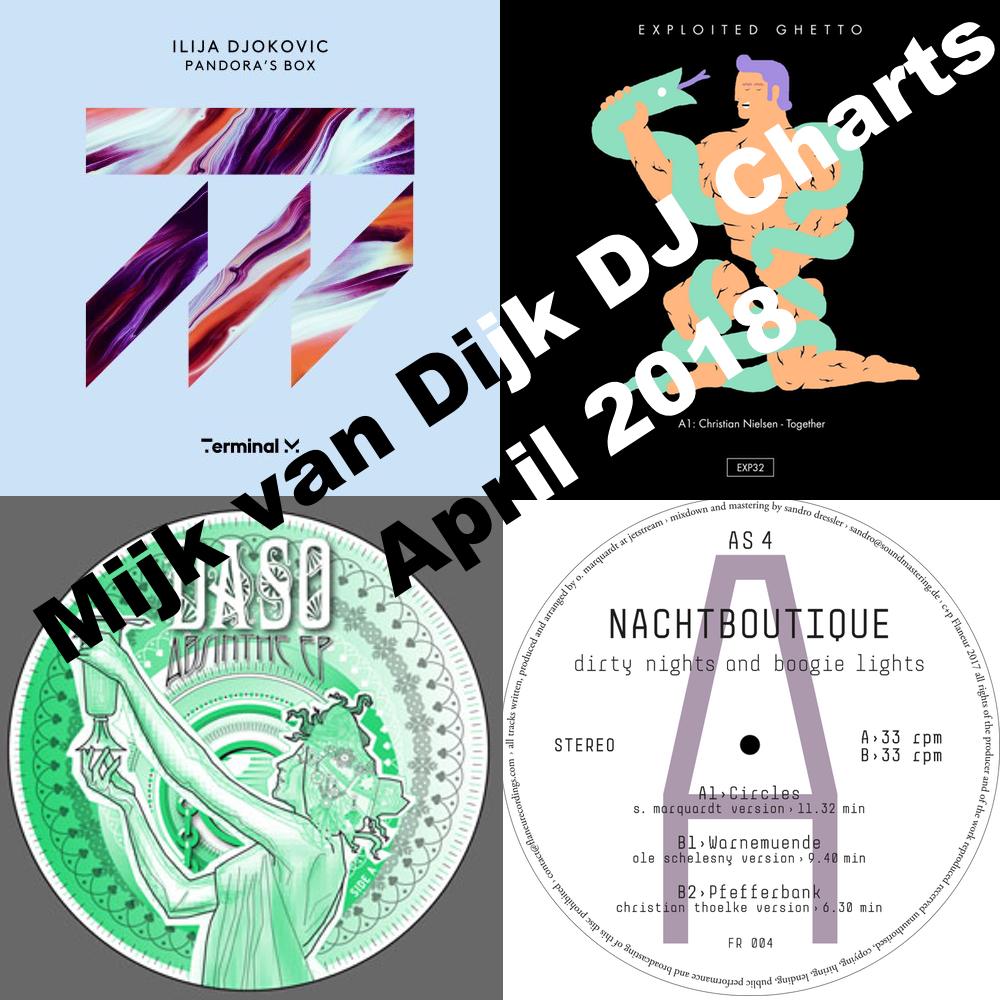 Mijk van Dijk DJ Charts April 2018