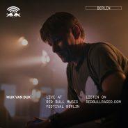 On the floor: Mijk van Dijk at Red Bull Music Festival