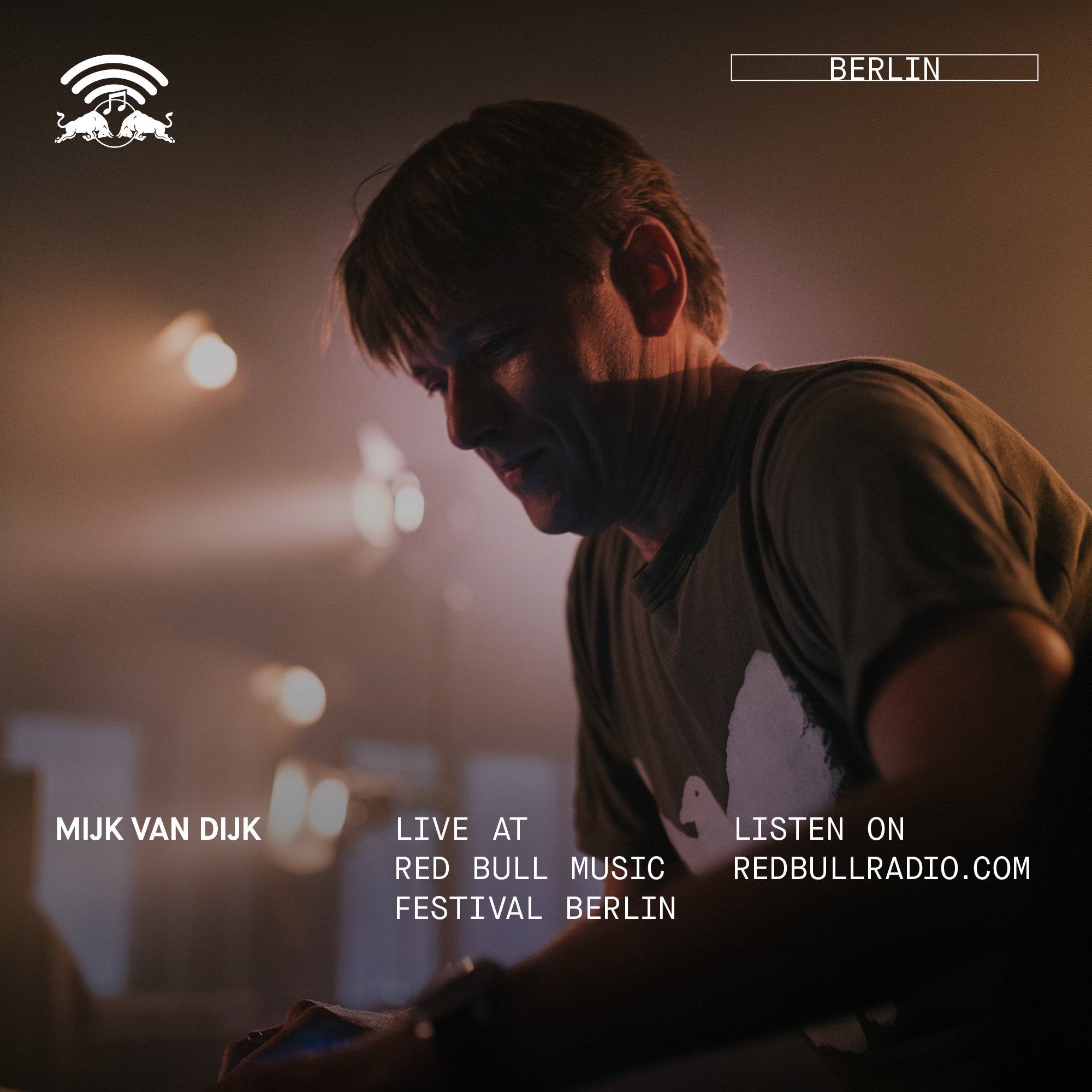 On the floor: Mijk van Dijk at Red Bull Music Festival