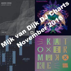 Mijk van Dijk DJ Charts November 2018