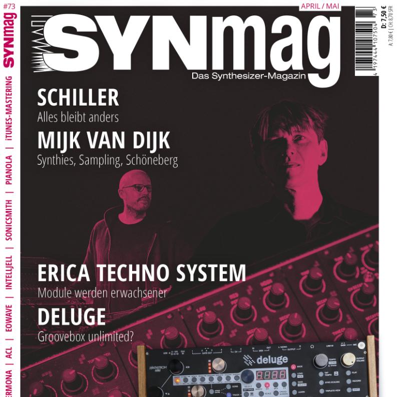Mijk van Dijk Coverstory Synmag 73