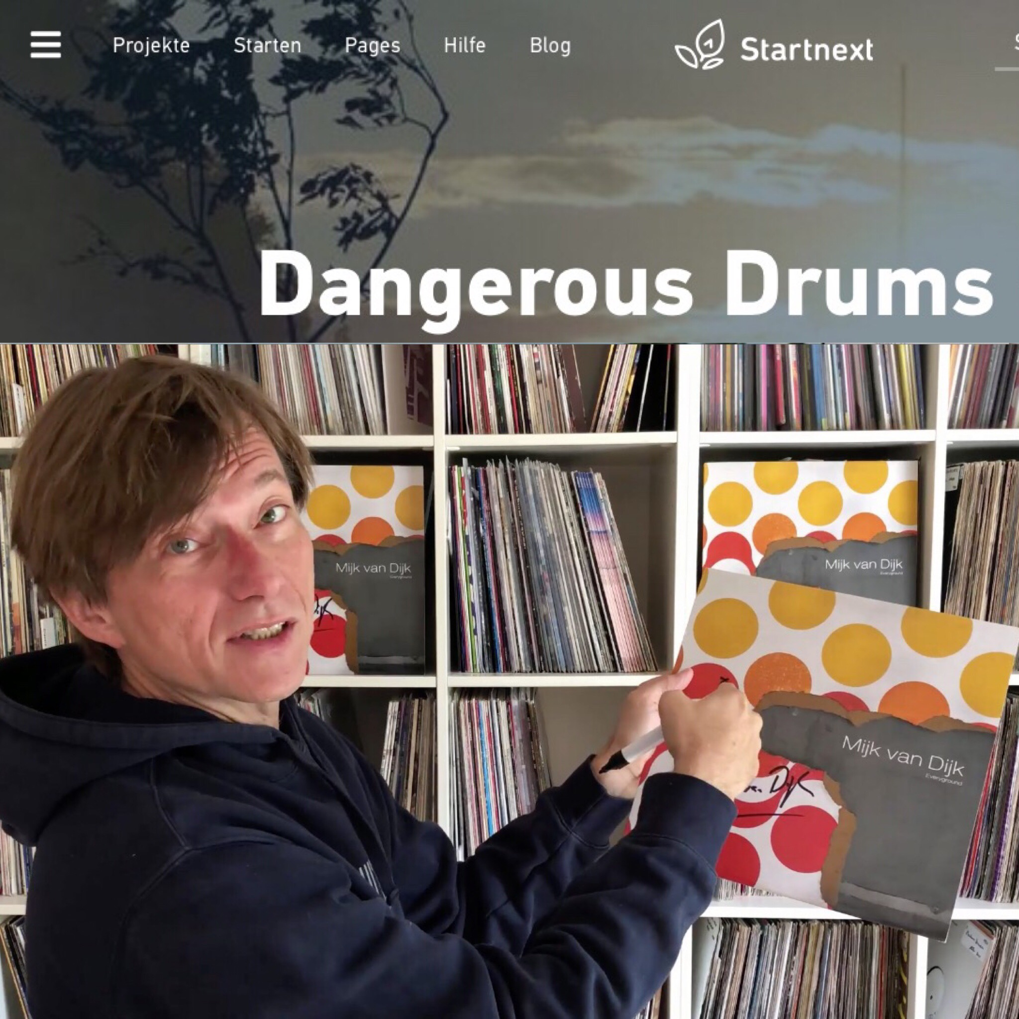 Dangerous Drums Startnext Campaign for Zug der Liebe 2019