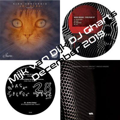 Mijk van Dijk DJ Charts December 2019