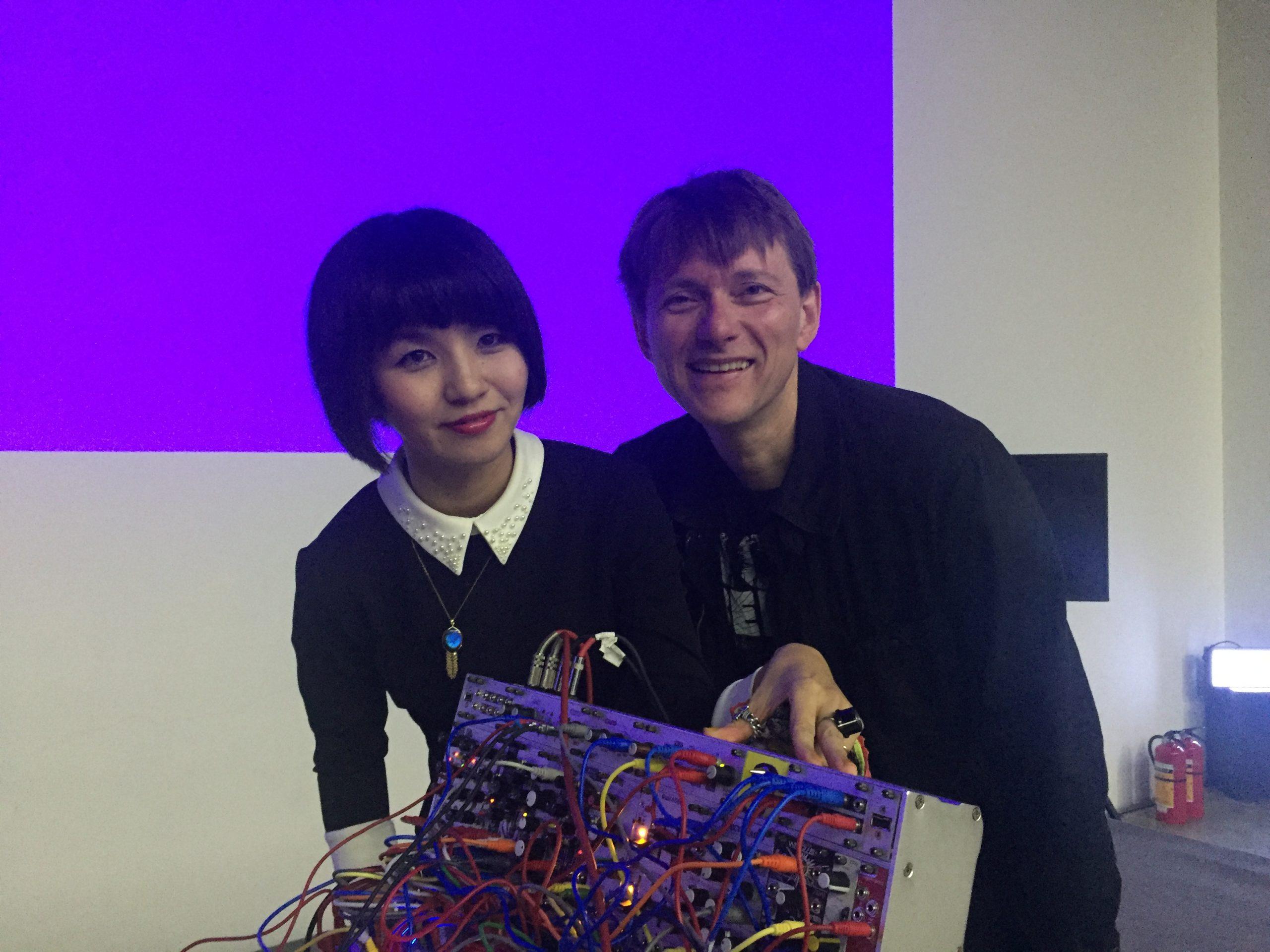 Galcid and Mijk van Dijk in Shenzhen/ China, December 2017