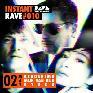 Instant Rave 010 Flyer
