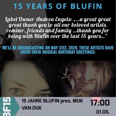 Mijk van Dijk DJ-Set 15 Years of BluFin Records