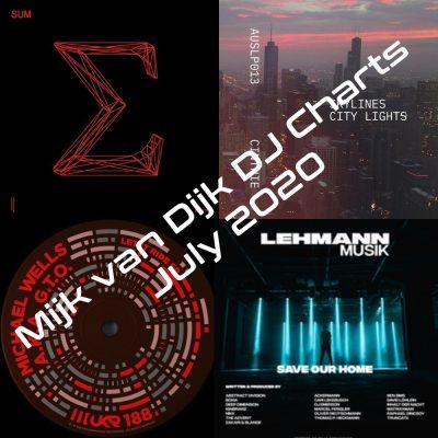 Mijk van Dijk DJ Charts July 2020
