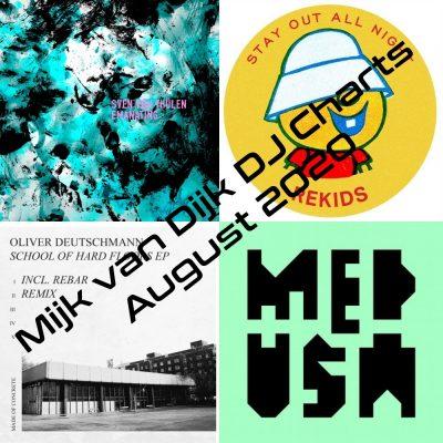 Mijk van Dijk DJ Charts August 2020