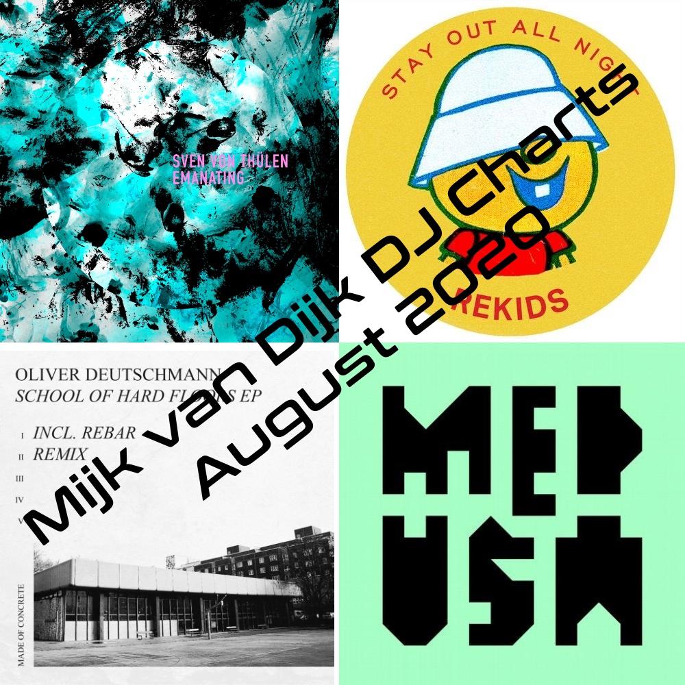 Mijk van Dijk DJ Charts 08_2020