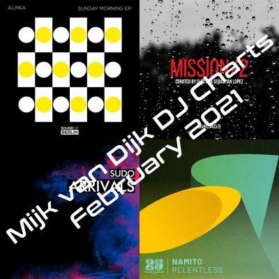 Mijk van Dijk DJ Charts February 2021
