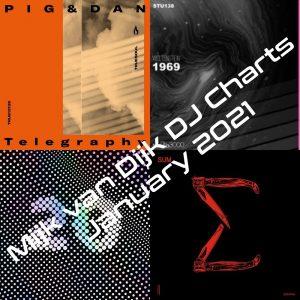 Mijk van Dijk DJ Charts January 2021